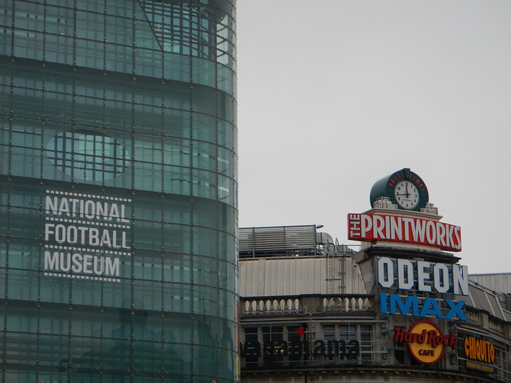 Voetbalmuseum Manchester