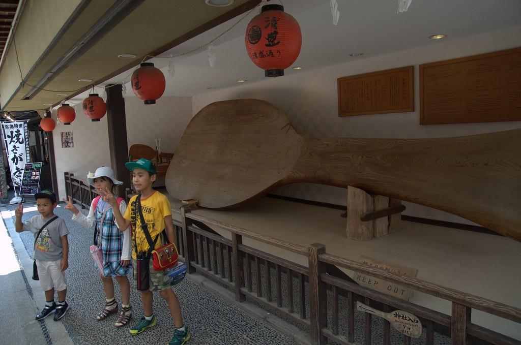 Werelds grootste rijstlepel