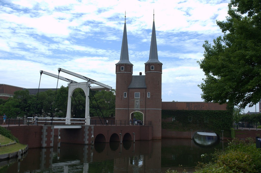 Delft in Huis ten Bosch Japan