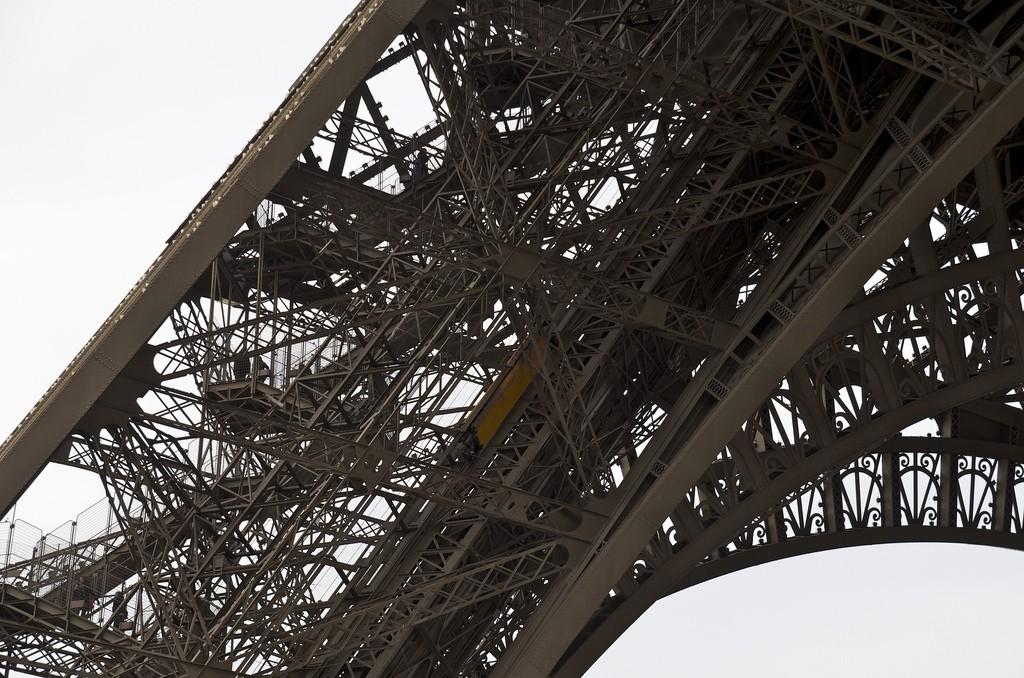 Eiffeltoren aan de voet