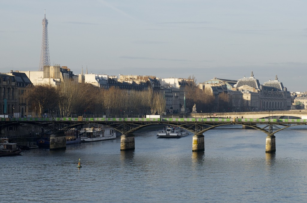 Eiffeltoren bij de Seine