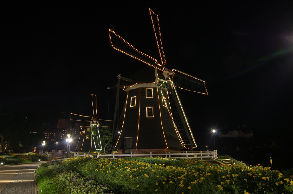 Kinderdijk in Huis ten Bosch Japan