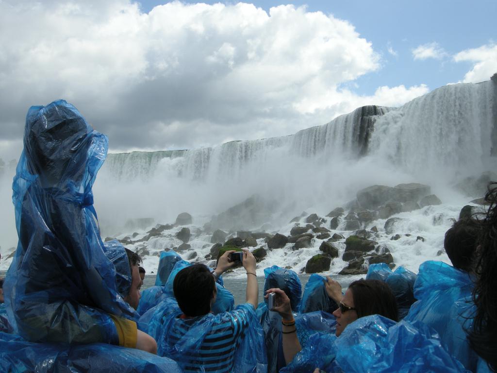 Niagara Falls Canada vanaf de boot
