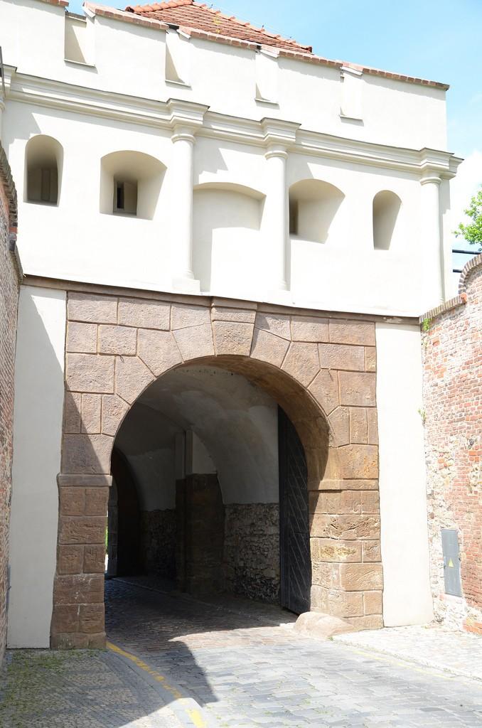 Tabor poort Vysehrad Praag