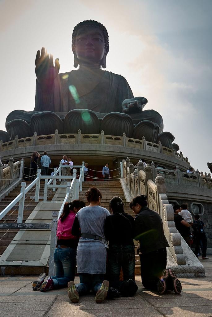 Tian Tan Boeddha Hong Kong