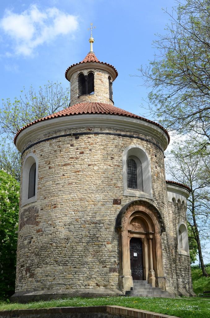 Toren van Sint Martinus Vysehrad Praag