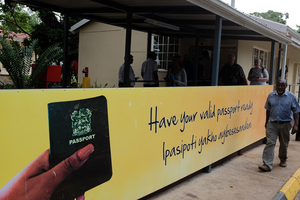 Paspoortcontrole Swaziland