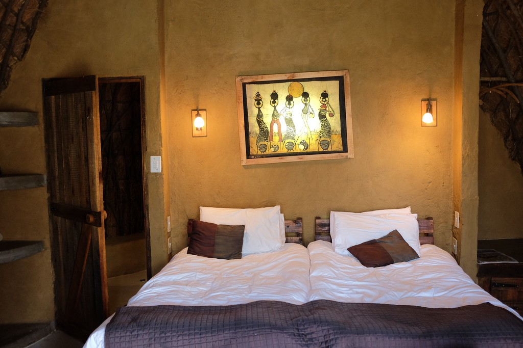 Slaapkamer in Swaziland