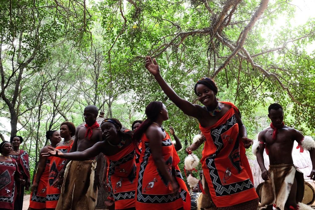 Swaziland dans en zang
