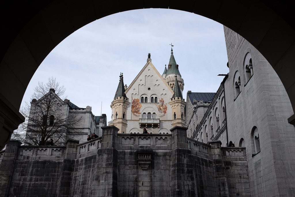 Binnenplaats Neuschwanstein