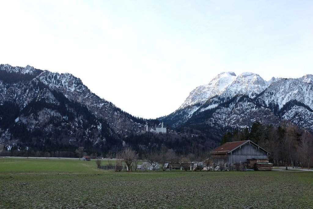Neuschwanstein vanuit Schwangau