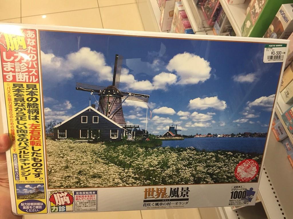 Tokyo Hands Puzzel Nederland
