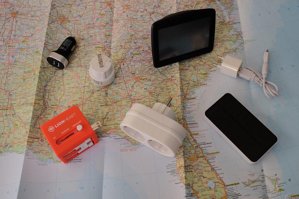 Gadgets voor USA roadtrip