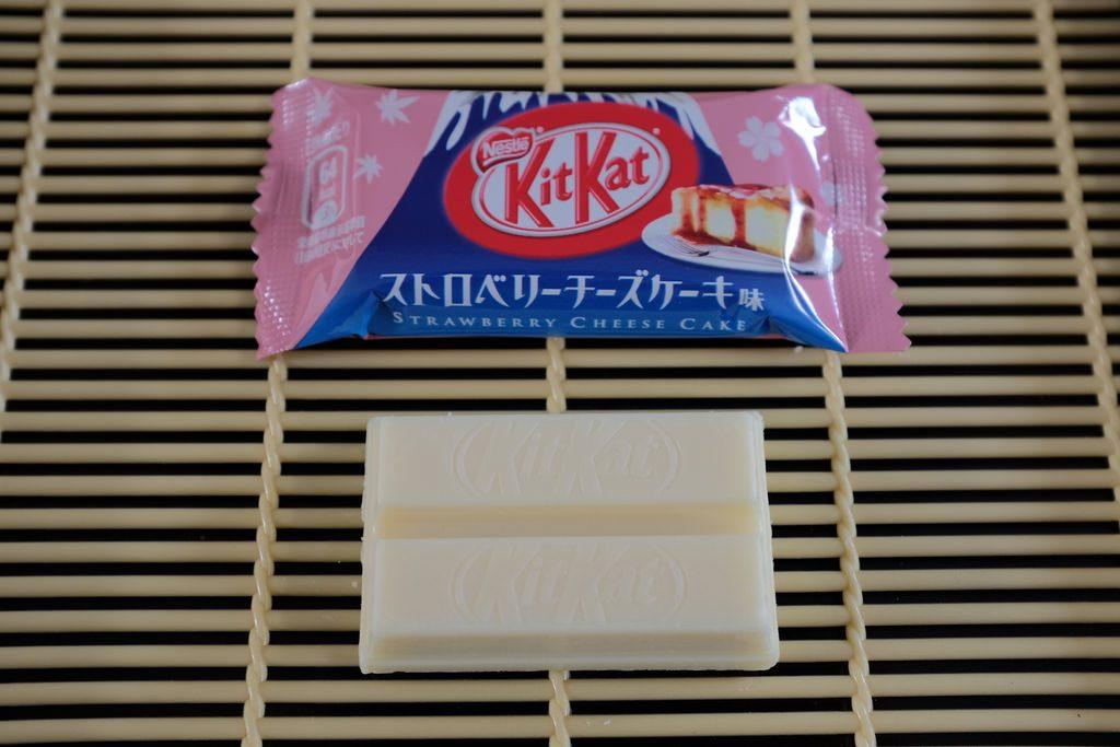 Kitkat Cheesecake aardbei