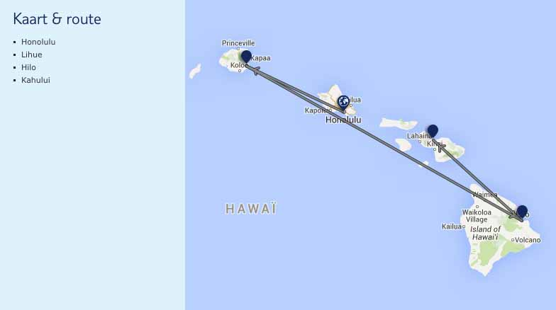 route hawai
