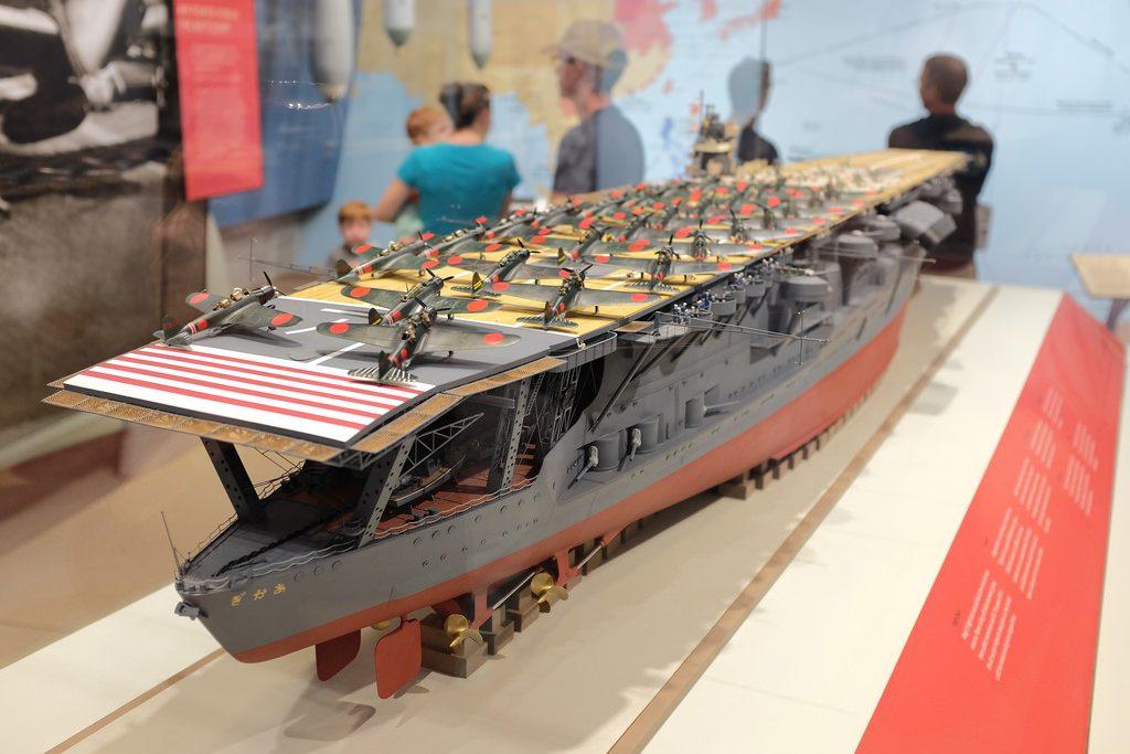 Akagi schip Japan