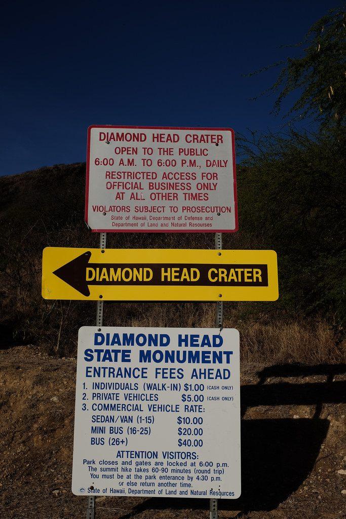 Algemene informatie Diamond Head Crater