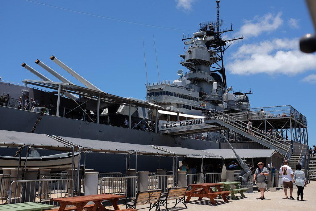Battleship USS Missouri Pearl Harbor