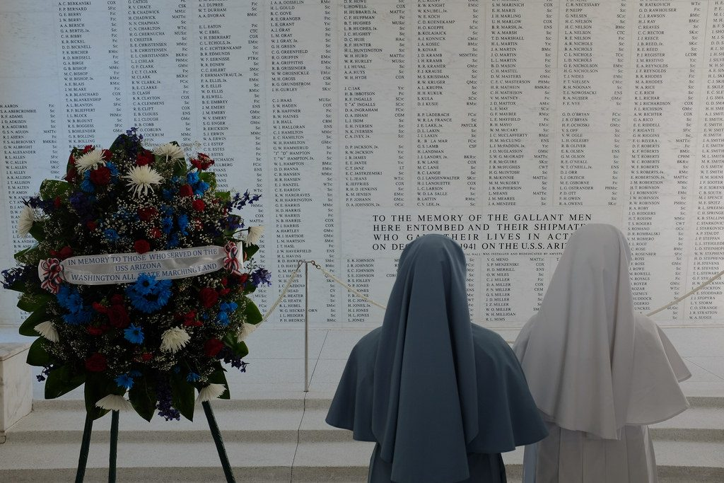 Gedenkmuur Pearl Harbor