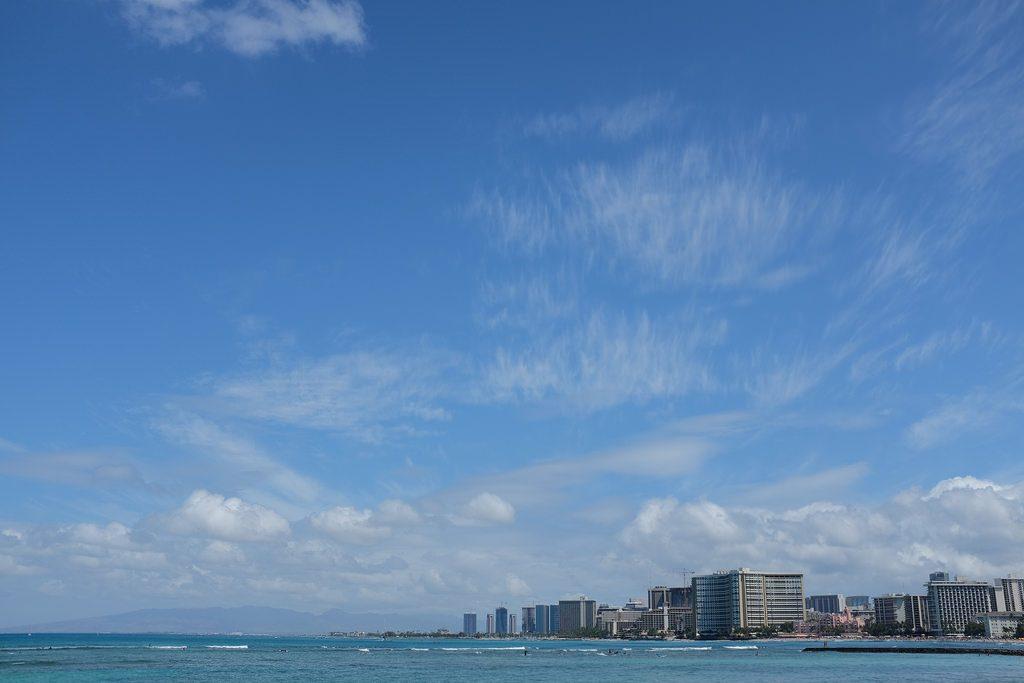 Honolulu lucht