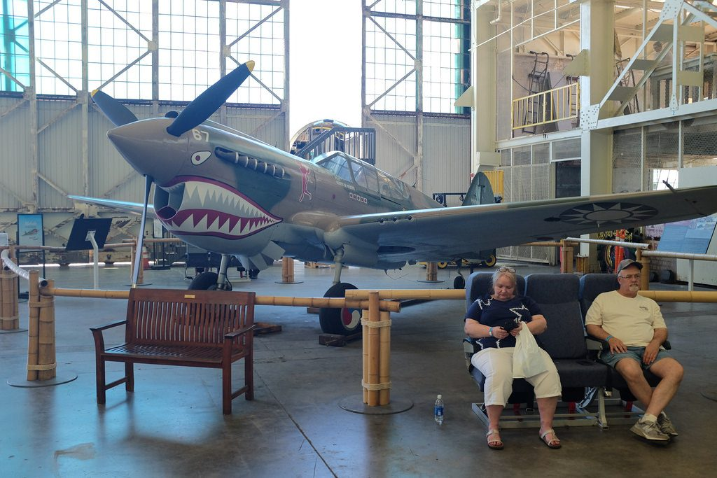 Vliegtuigmuseum Pearl Harbor