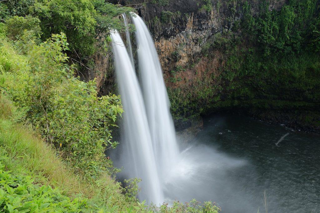 Wailua watervallen Kauai