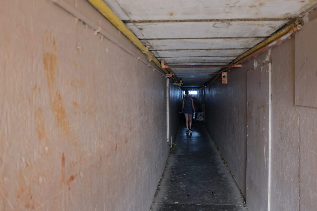 Weer een tunneltje