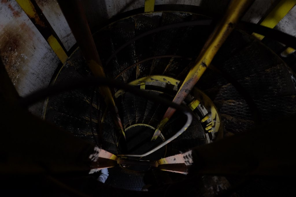 Wenteltrap Diamond Head Crater