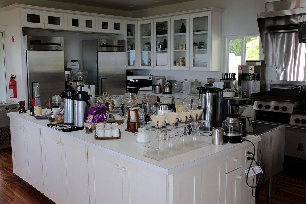 De droomkeuken van elke koffieliefhebber