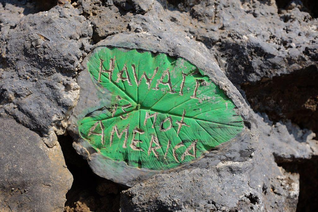 Hawaii is not America
