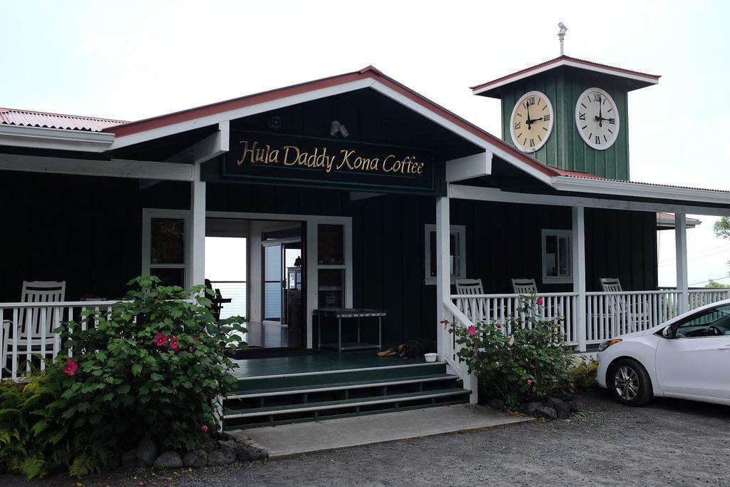 Hula Daddy Coffee Kona koffie bezoeken