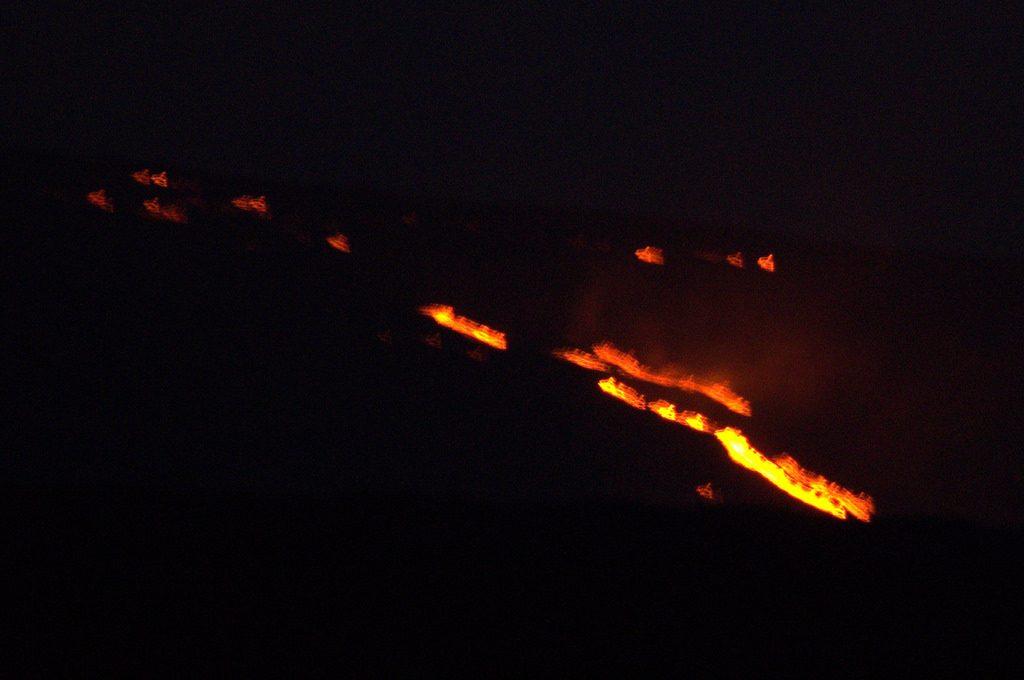 Lavastroom Vulkanen Hawaii 2016