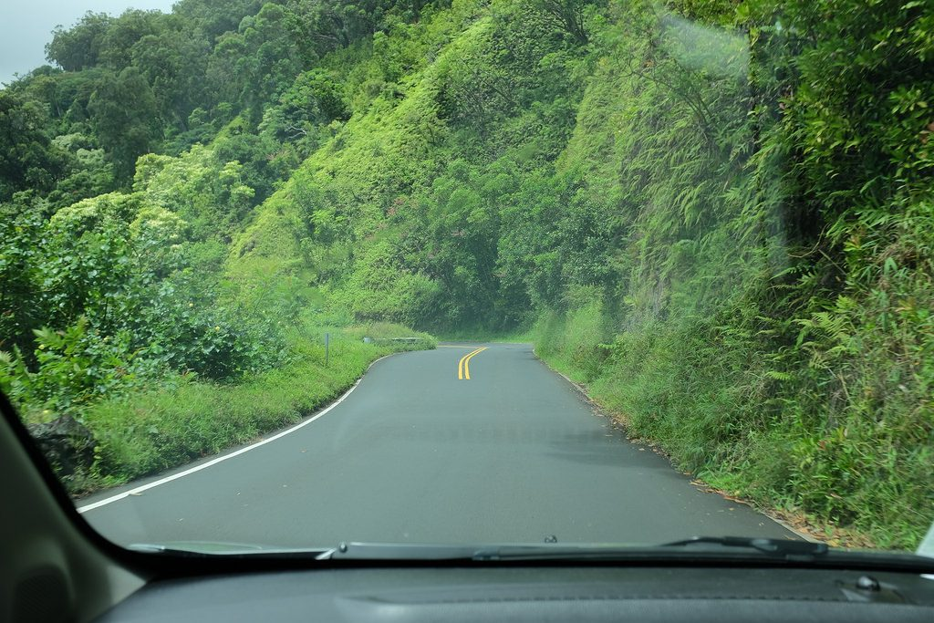 Road to Hana rijden Hawaii