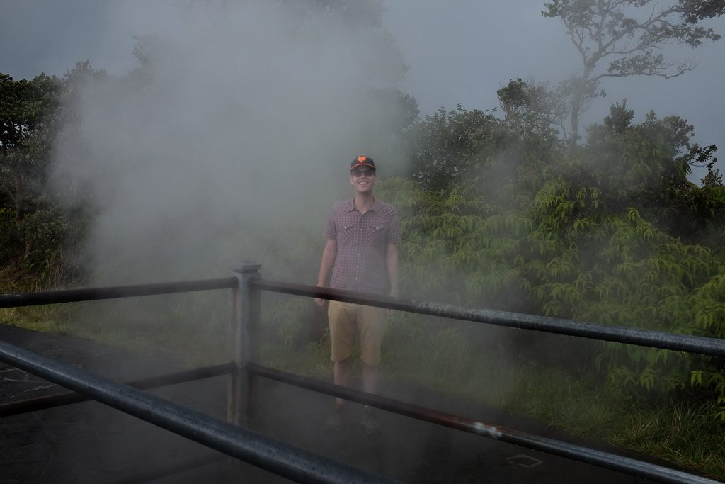 Stoombad Vulkanen Hawaii