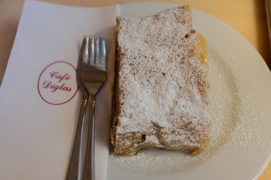 Apfelstrudel Cafe Diglas