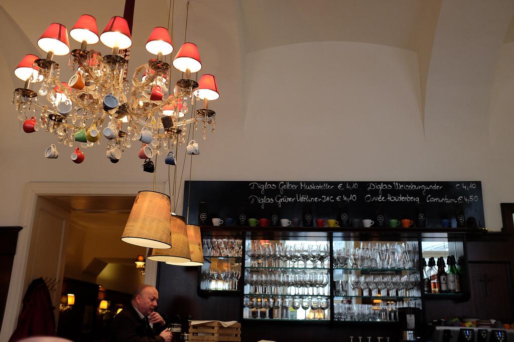 Koffiehuizen koffiecultuur Cafe Diglas Wenen