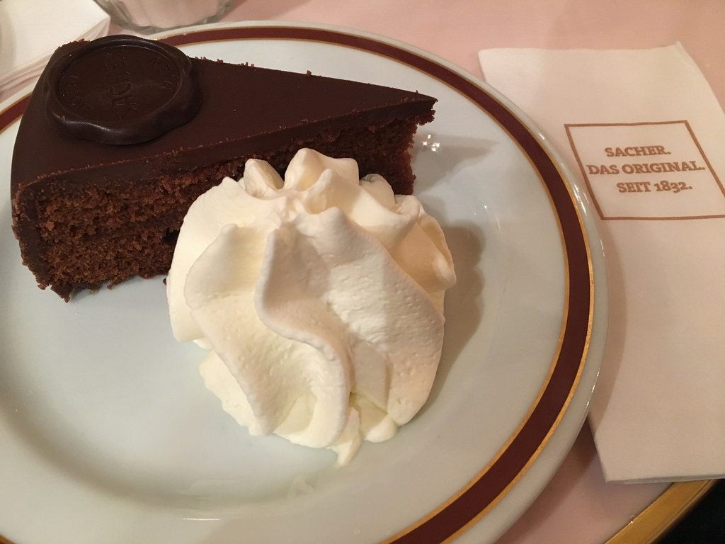 Sacher Torte Sachertaart Café Wenen