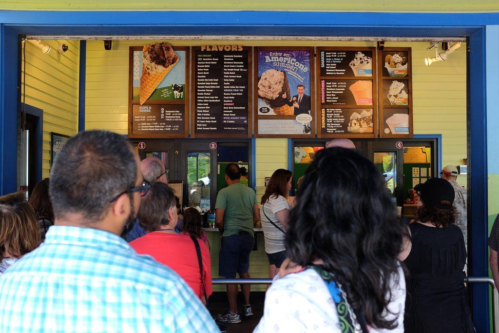 Keuze uit alle smaken Ben & Jerry ijs