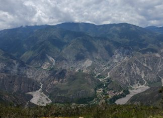 Goedkoop paragliden over de Chicamocha Canyon