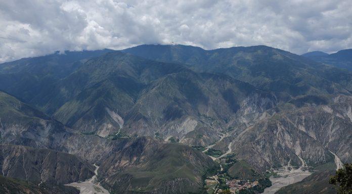 Goedkoop paragliden over de Chicamocha Canyon