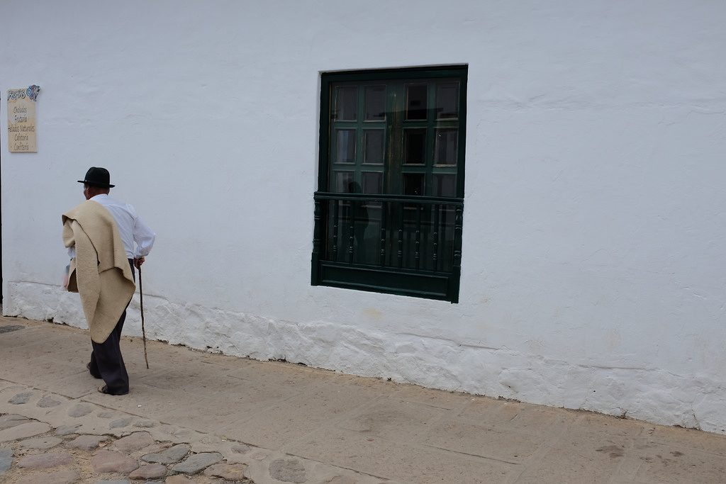 Old man Villa de Leyva