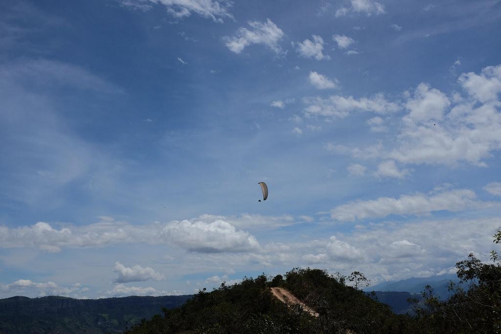 Paragliding Chicamocha Canyon San Gil