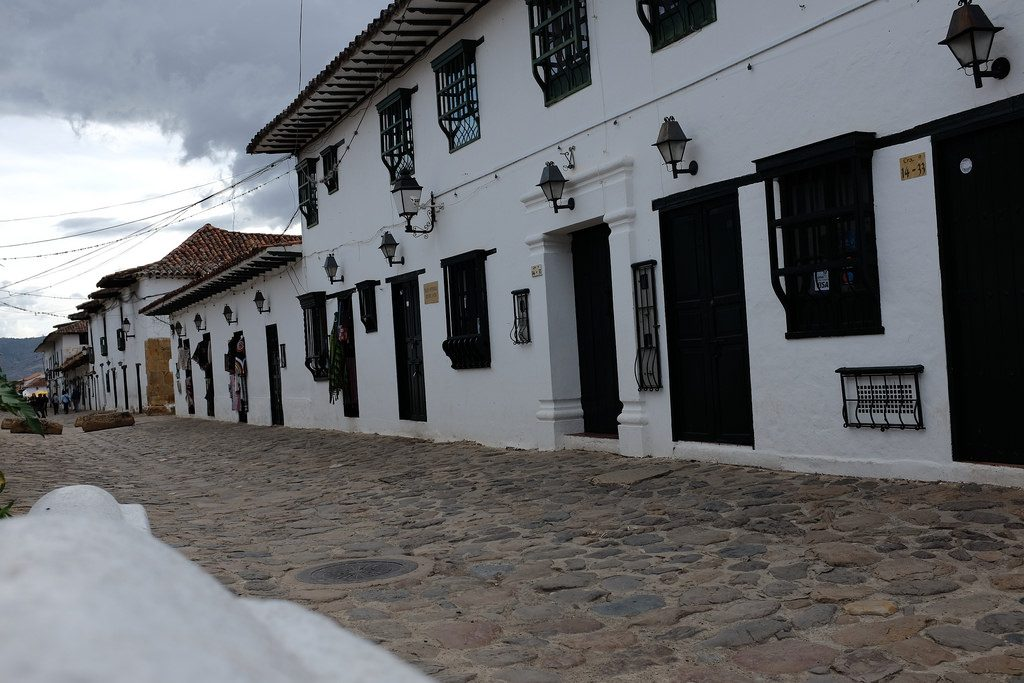 Villa de Leyva straat