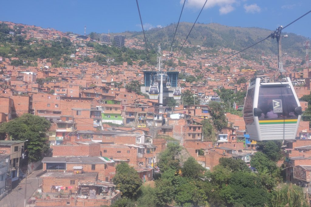 Doen in Medellin Kabelbaan Medellin