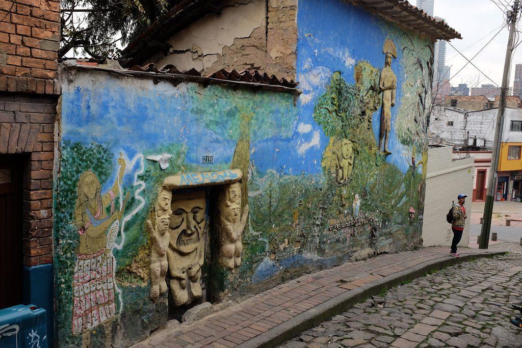 Bogota graffiti tour - 3D mural