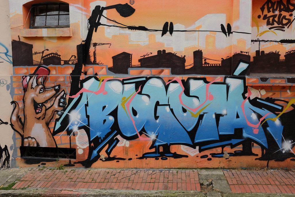 Bogota graffiti tour - Bogota tag