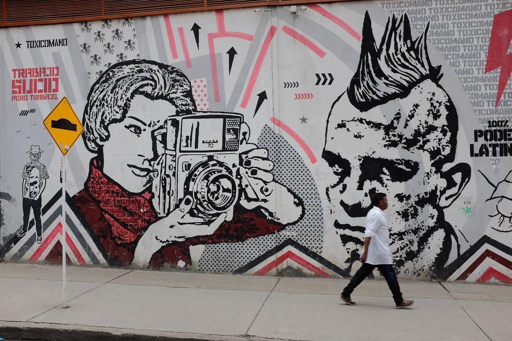 Bogota graffiti tour - Fotografie