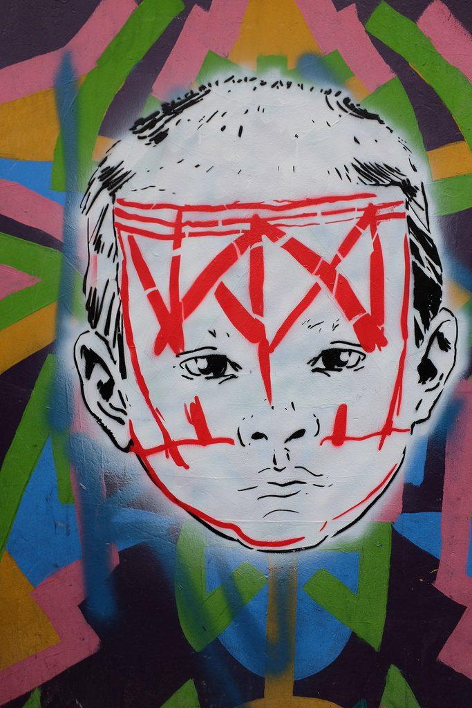 Bogota graffiti tour - Gezicht