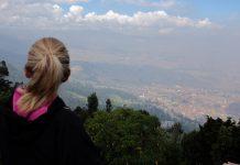 Doen in Bogota uitzicht Monserrate