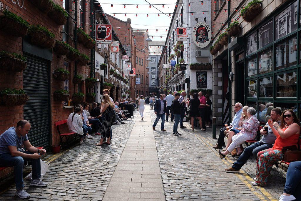 48 uur in Belfast citytrip commercial Court
